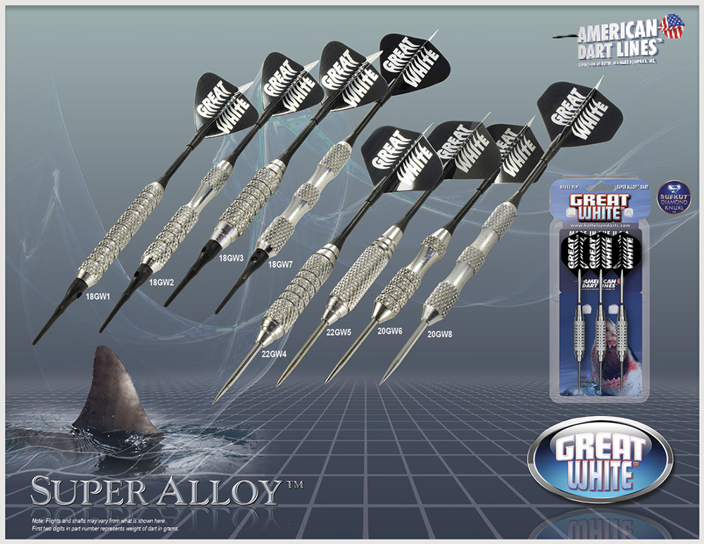 ADL Great White™ Super Alloy™ Darts